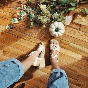 Adorable Crochet Espradille Sandals